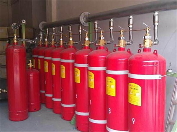 贵州气体灭火器安装案例