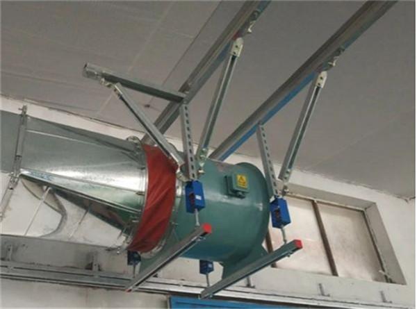 苏达风机抗震安装案例