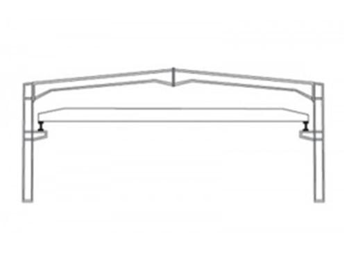 新疆带夹层的轻钢结构