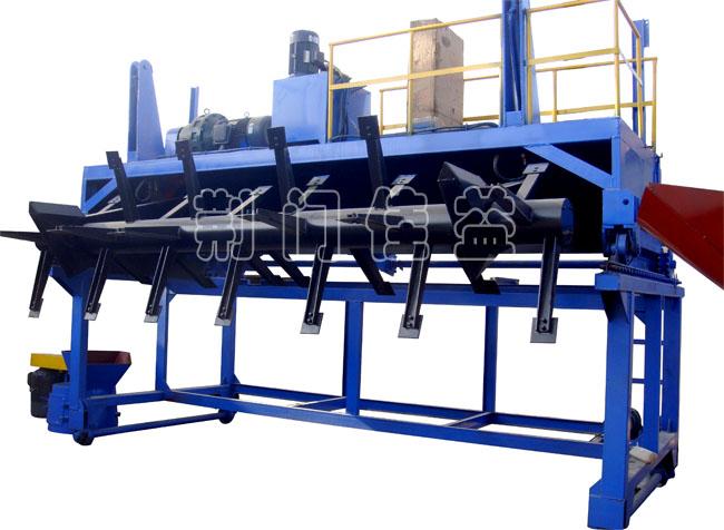 荆门佳益翻抛机设备_高效深槽滚筒移动式翻堆机
