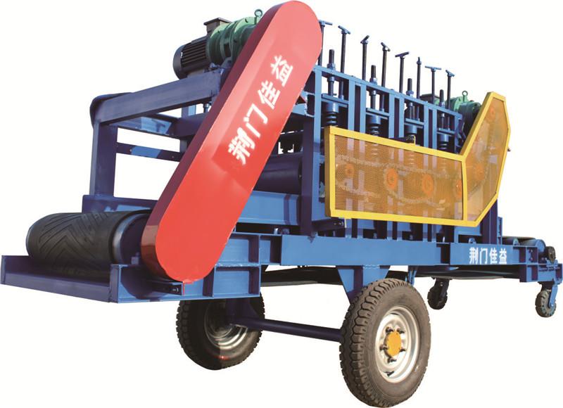 湖北有机肥设备厂家-JPD650X3500有机肥成品压包机