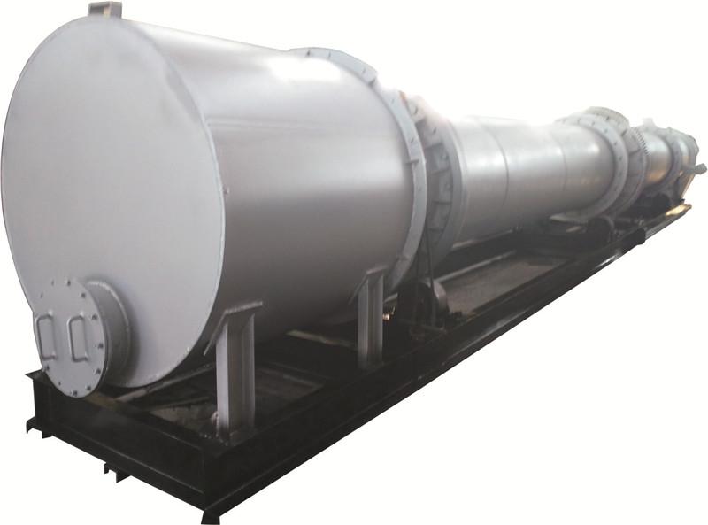 硫精砂拌矿及冷却浸没滚筒