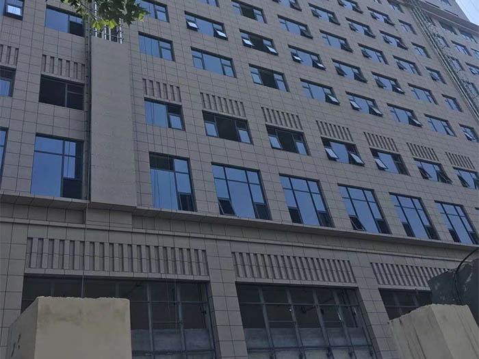 西安61363部队办公楼保温装饰一体板施工案例
