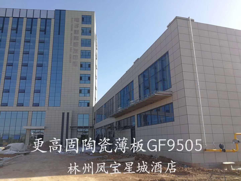 杭州凤宝星城酒店陶瓷薄板施工案例