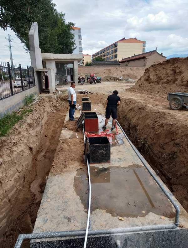 四川地埋式汙水處理設備