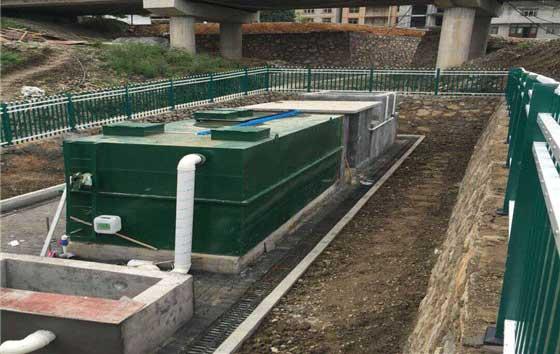 重庆黔江中塘二组生活污水处理