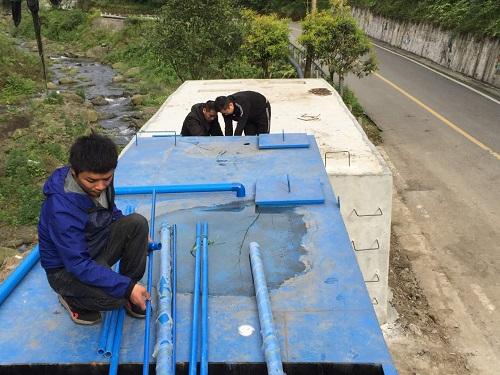 鎣華山水世界-德陽什邡石門村生活汙水處理項目