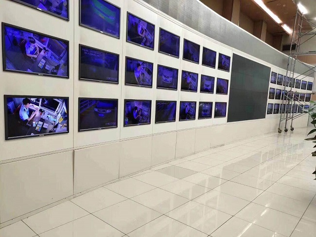 西安监控电视墙
