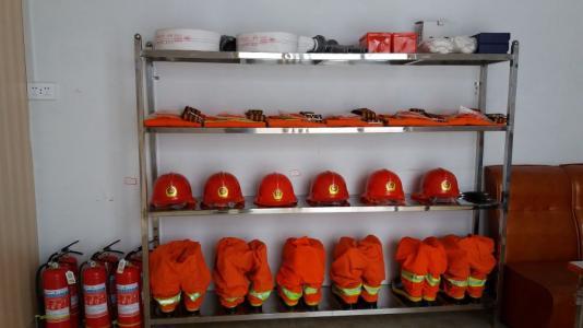 消防器材的摆放