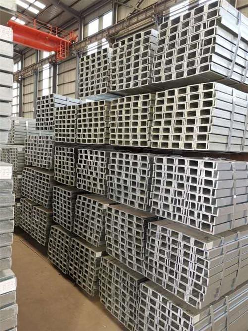 新疆镀锌槽钢