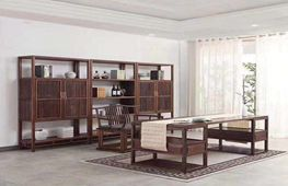 老榆木家具--书房