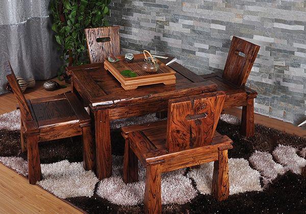 内蒙古老榆木家具