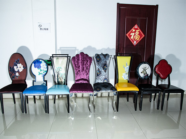 呼市酒店现代餐椅家具厂家