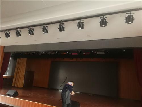 新密某單位報告廳燈光、音響、大屏