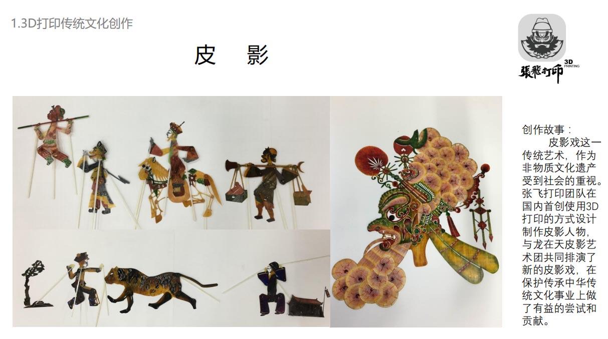 3D打印——经典产品展示