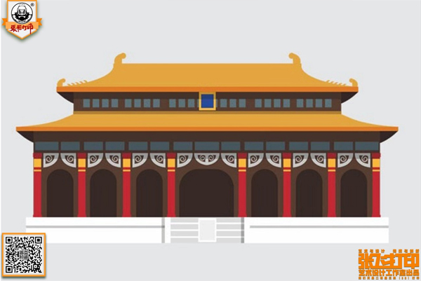 张飞打印第五季作品展—《北京标志建筑手机壳》