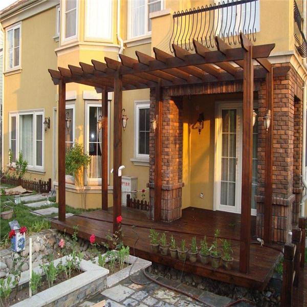 庭院防腐木花架