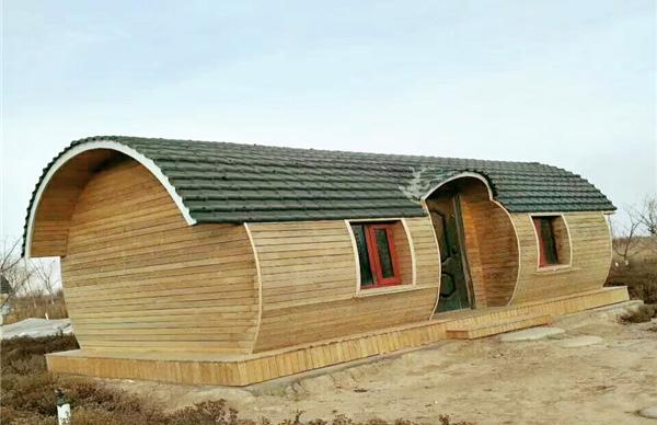 防腐木木屋加工