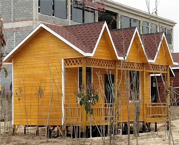 防腐木木屋设计  休闲木屋
