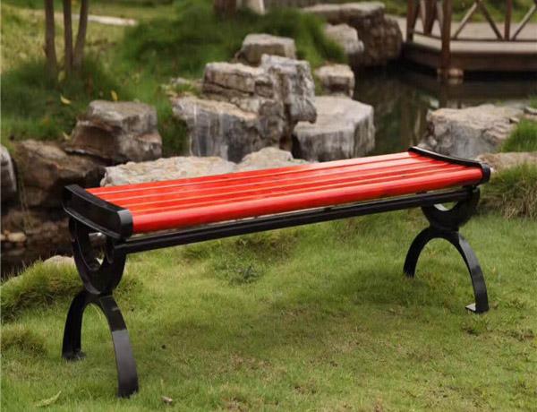 防腐木户外椅子
