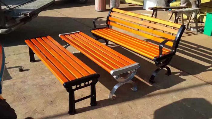 户外防腐木椅