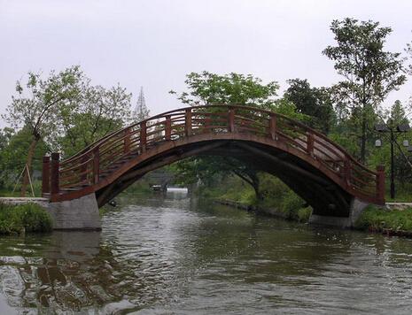 兰州防腐木木桥工程