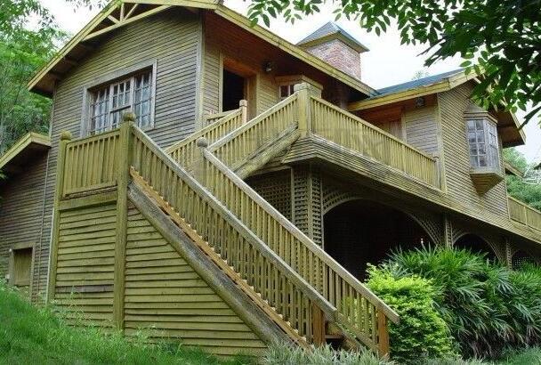 兰州防腐木木屋