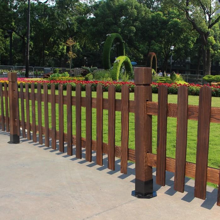 兰州防腐木护栏加工
