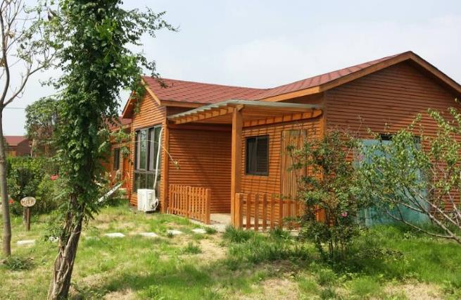 兰州防腐木生态木屋
