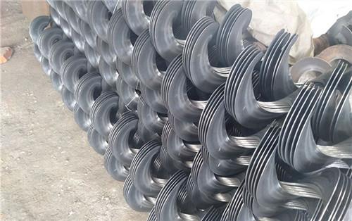 新疆天山动力和企业合作的螺旋叶片的案例