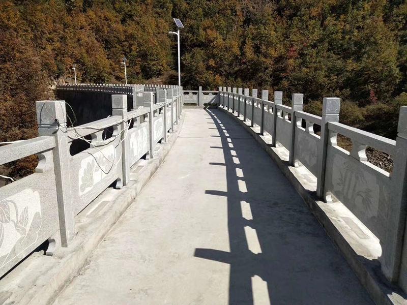 实子园林石栏杆施工