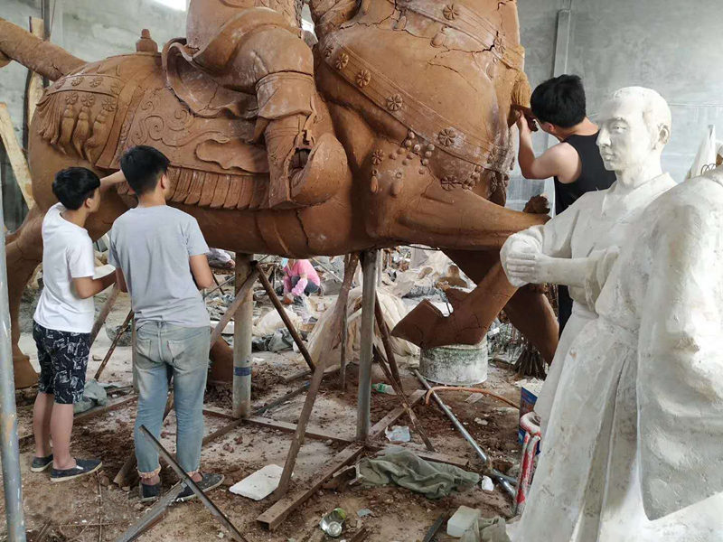 陕西泥塑施工