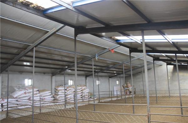 9GNS—2500型钢屋架采暖畜舍