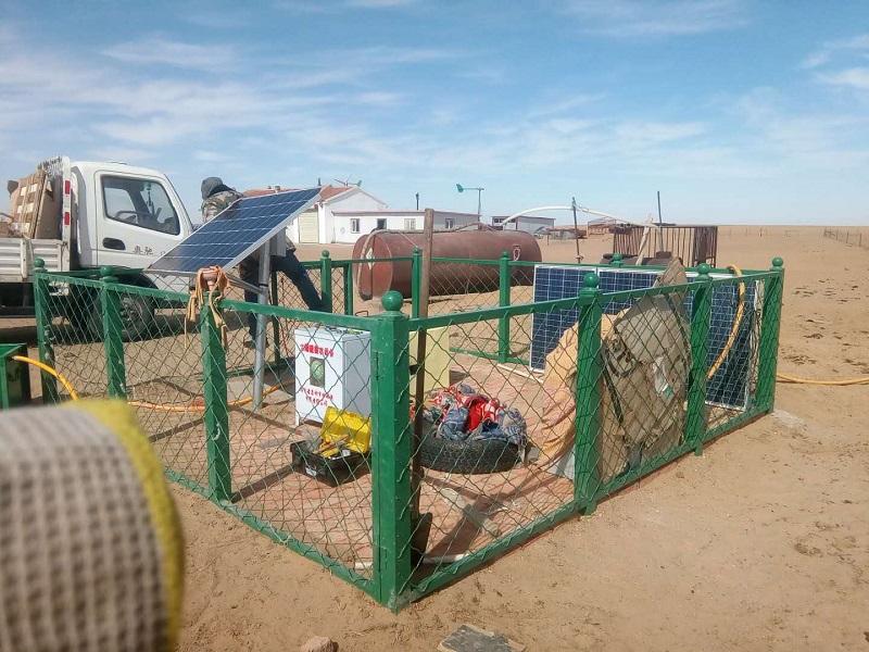 内蒙古嘉利节水灌溉与苏尼特右旗合作风光互补机组