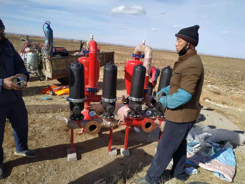 内蒙古嘉利节水灌溉喷改滴项目
