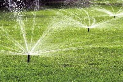 节水灌溉中的错误情况