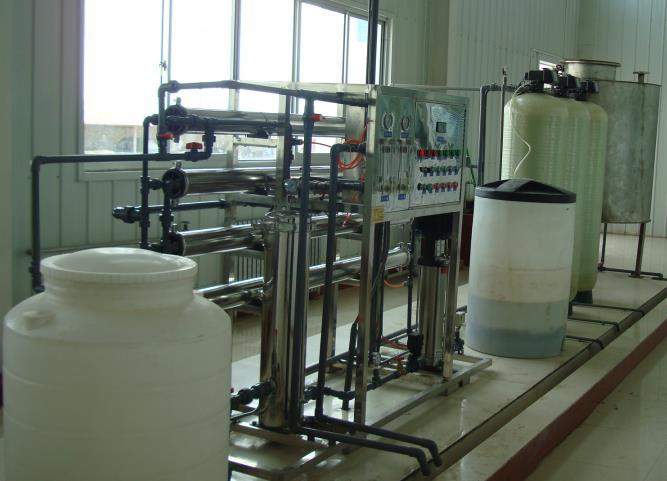 为延长石油提供纯净水直饮工程项目