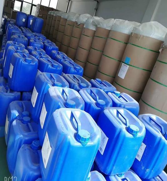 阻垢剂和树脂罐库存展示
