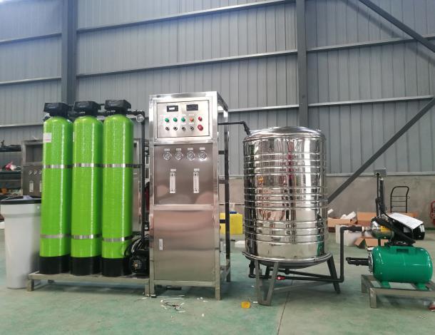 为延安石油提供反渗透水处理设备