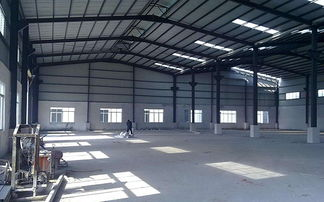 钢结构厂房施工案例