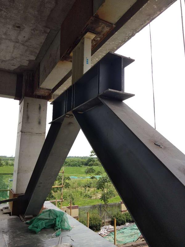 桥梁黏滞阻尼器 VFD 加固