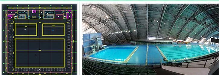游泳馆规划设计
