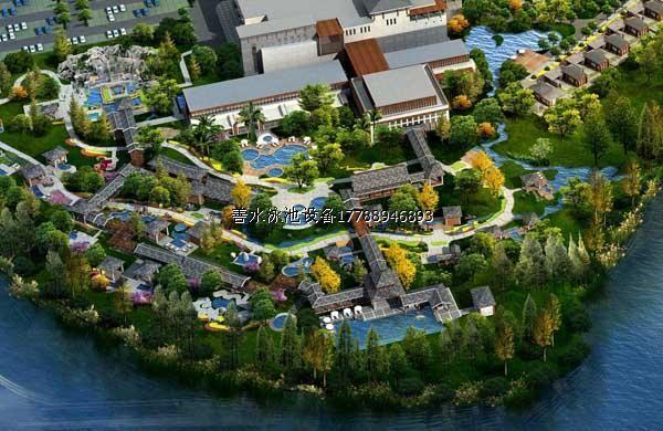 中型温泉规划设计
