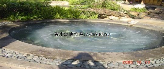 漩涡池实景图