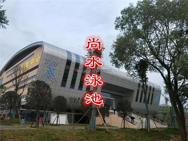 江西芦溪体育馆游泳池设备全套工程案例