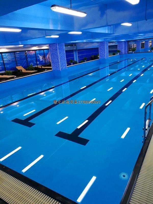 湖南卡迪欧健身房拆装式游泳池 案例