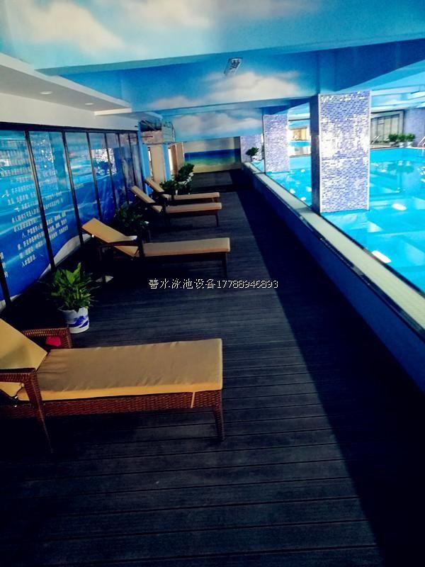 湖南钢结构游泳池案例
