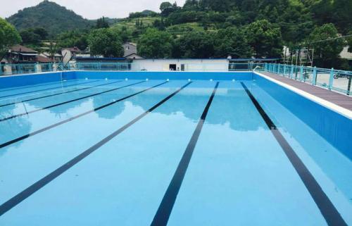 钢结构拆装式泳池建造方案