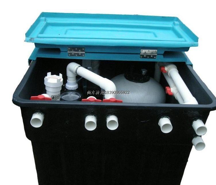 泳池水处理设备-地埋式一体机