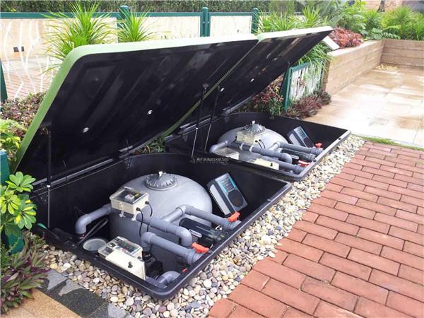 泳池过滤设备安装